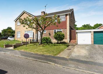 Thumbnail 3 bed semi-detached house for sale in Oak Tree View, Farnham, Surrey
