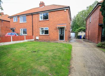 Thumbnail 2 bed semi-detached house for sale in Crookesbroom Lane, Hatfield, Doncaster