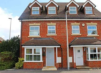 Thumbnail 4 bed semi-detached house for sale in Horse Guards Way, Thatcham