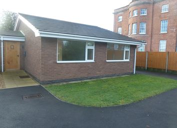Thumbnail 2 bed bungalow to rent in Park View, Park Road, Wem