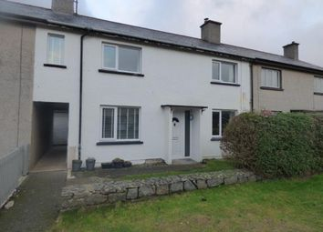 Thumbnail 3 bed terraced house for sale in Ffordd Mela, Pwllheli, Gwynedd