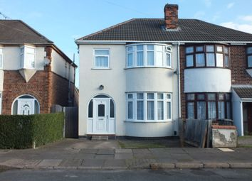 Thumbnail 3 bed semi-detached house for sale in Pauline Avenue, Off Woodbridge Road, Leicester
