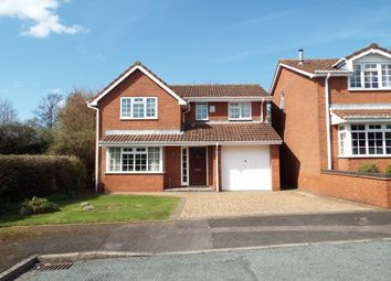 Thumbnail 4 bed detached house to rent in Foxleigh Meadows, Handsacre, Rugeley