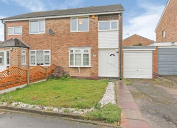 Thumbnail 3 bed semi-detached house for sale in Rowan Way, Chelmsley Wood, Birmingham