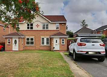 Thumbnail 3 bed semi-detached house for sale in Sandmoor Close, Hull