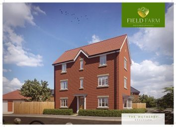 Thumbnail 5 bed detached house for sale in Plot 70, The Wetherby, Field Farm, Stapleford