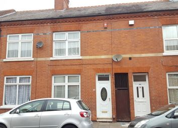 Thumbnail 3 bedroom terraced house to rent in Dashwood Road, Leicester