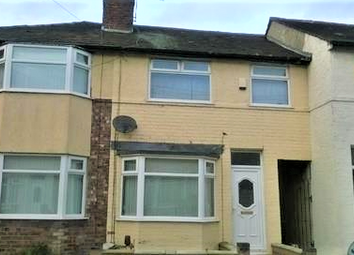 Thumbnail 3 bed terraced house to rent in Glamis Road, Liverpool