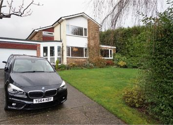 Thumbnail 3 bed detached house for sale in Gleave Close, East Grinstead