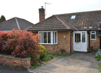 Thumbnail 3 bed semi-detached house for sale in Crawford Close, Cubbington, Leamington Spa, Warwickshire