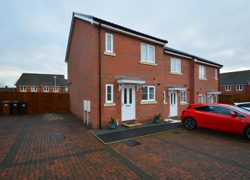 Thumbnail 2 bed end terrace house for sale in Limestone Close, Great Blakenham, Ipswich