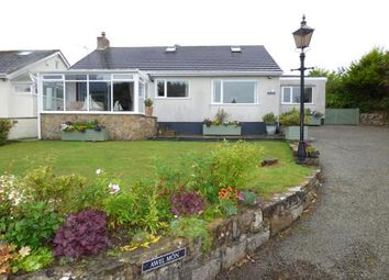 Thumbnail 4 bed bungalow for sale in Marianglas, Anglesey, North Wales