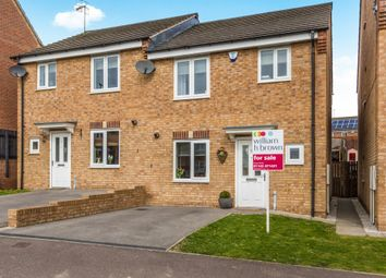 Thumbnail 3 bed semi-detached house for sale in Jasmine Gardens, Swallownest, Sheffield