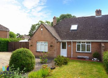 Thumbnail 2 bed semi-detached bungalow for sale in Wareham Road, Lytchett Matravers BH16.