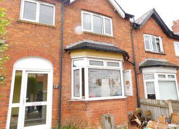 Thumbnail 3 bedroom terraced house to rent in Kings Road, Kings Heath, Birmingham