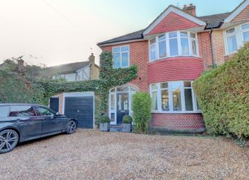 Thumbnail 3 bed semi-detached house for sale in Bagshot Road, Knaphill, Woking