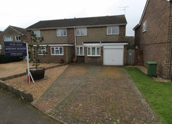 Thumbnail 3 bed semi-detached house for sale in Severn Drive, Newport Pagnell, Buckinghamshire