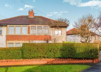 Thumbnail 3 bedroom semi-detached house for sale in Rossall Drive, Fulwood, Preston, Lancashire