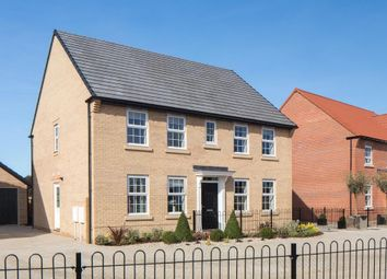 "Thumbnail 4 bed detached house for sale in ""Chelworth"" at Stoke Road, Poringland, Norwich"