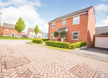 Thumbnail 3 bed detached house for sale in Croft Avenue, Rugby