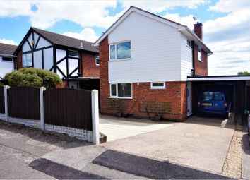 Thumbnail 3 bed detached house for sale in Diamond Avenue, Mansfield
