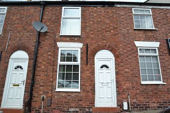 Thumbnail 2 bed terraced house to rent in Paradise Street, Macclesfield