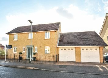 Thumbnail 4 bed detached house for sale in Parker Close, St. Neots, Cambridgeshire
