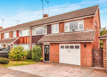Thumbnail 5 bed semi-detached house for sale in Brookside Road, Istead Rise, Gravesend