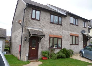 Thumbnail 3 bed semi-detached house to rent in Wood Close, Latchbrook, Saltash