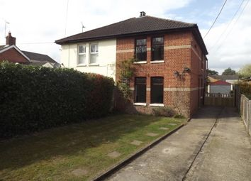 Thumbnail 3 bed semi-detached house to rent in Ringwood Road, St. Ives, Ringwood