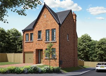 Thumbnail 4 bed detached house for sale in Station Road, Delamere, Northwich
