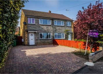 Thumbnail 3 bedroom semi-detached house for sale in Overn Crescent, Buckingham