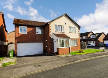 Thumbnail 5 bed detached house for sale in Thornbury Avenue, Seghill, Cramlington