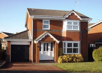 Thumbnail 3 bedroom detached house to rent in Merley Gate, Morpeth