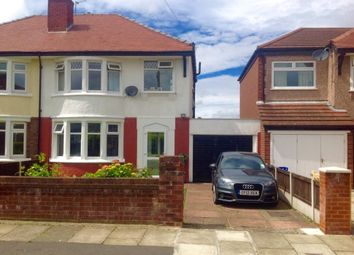 Thumbnail 3 bed semi-detached house for sale in Greenway, Greasby, Wirral