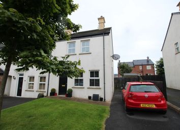 Thumbnail 3 bed terraced house to rent in Linen Crescent, Bangor