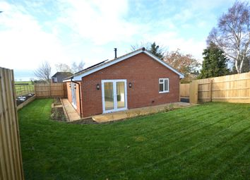 Thumbnail 2 bed detached bungalow for sale in Farndish Road, Irchester, Northamptonshire