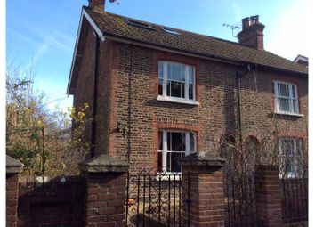 Thumbnail 3 bed semi-detached house for sale in Saxbys Lane, Lingfield