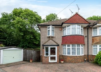 Thumbnail 3 bed semi-detached house for sale in Scads Hill Close, Orpington