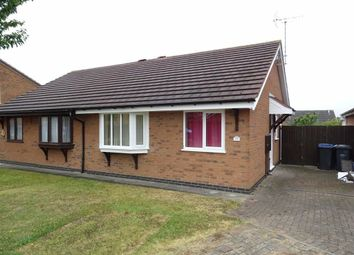Thumbnail 2 bed semi-detached bungalow for sale in Marywell Close, Hinckley
