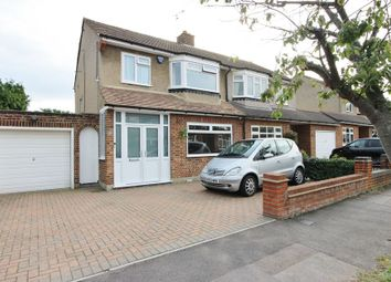 Thumbnail 3 bed semi-detached house for sale in Grenville Avenue, Broxbourne
