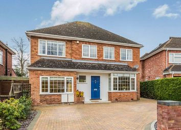 Thumbnail 5 bed detached house for sale in Bevere Close, Worcester