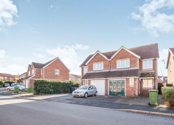 Thumbnail 3 bed semi-detached house for sale in Gull Way, Chatteris