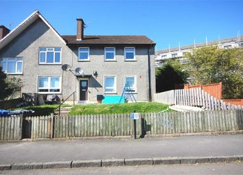 Thumbnail 3 bed flat for sale in Ferclay Street, Clydebank