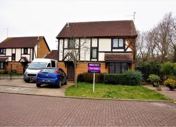 Thumbnail 4 bedroom detached house for sale in Martinsbridge, Peterborough