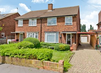Thumbnail 3 bed semi-detached house for sale in Aragon Avenue, Thames Ditton