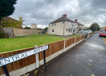 Thumbnail 3 bed semi-detached house for sale in Central Avenue, Cannock, Staffordshire