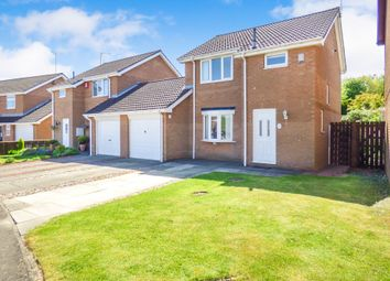 Thumbnail 3 bed detached house for sale in Ilford Avenue, Cramlington