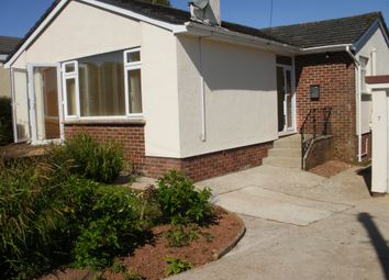 Thumbnail 2 bed detached bungalow to rent in Greenway Park, Galmpton, Brixham
