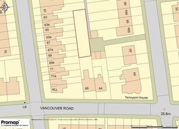 Thumbnail Land for sale in Vancouver Road, London